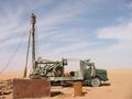 #3: A new borehole being drilled and lined, ready to supply a new field.