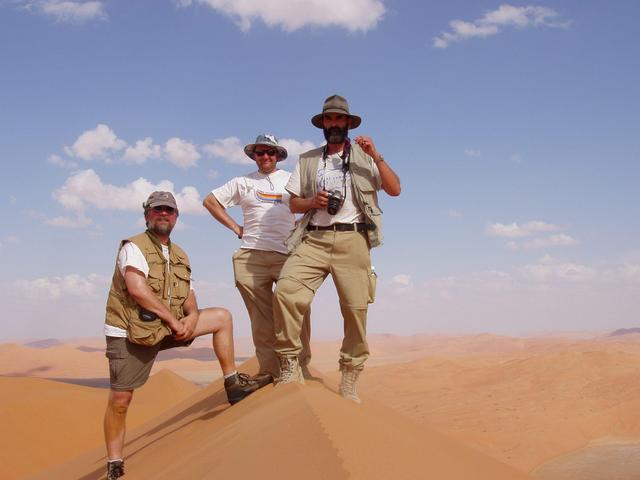 Group at Hibak dune