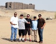 #6: The crew at the fort
