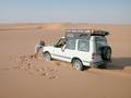 #7: In the Dahnā' dunes we encountered some very soft sand...