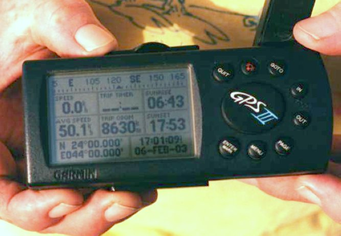 The GPS for the record