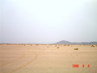 #1: Southeast view, Jabal Abū Hasāk shown