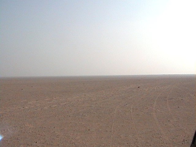 View to the East of confluence point 24N 49E.