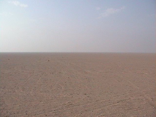 View to the South of confluence point 24N 49E.