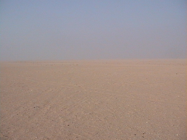 View to the West of confluence point 24N 49E.
