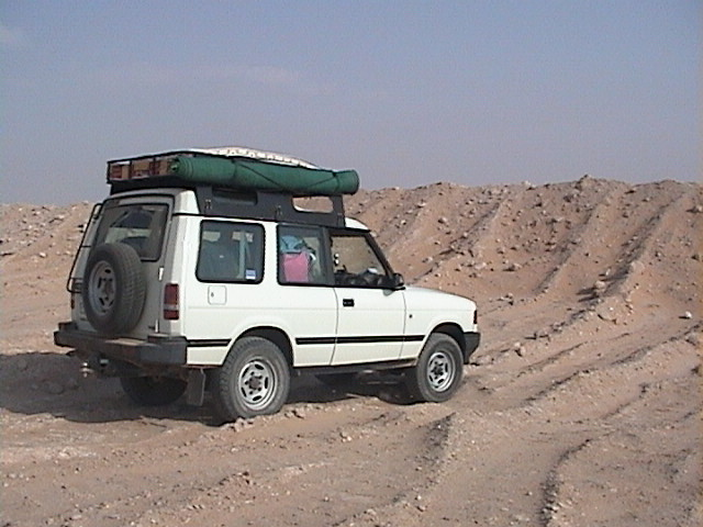 Here we can see the height of the embankment preventing the camels to go grazing the crops.