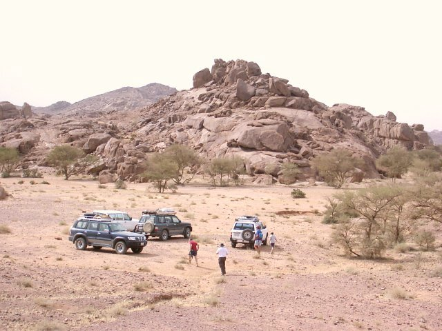 The base of the jabal
