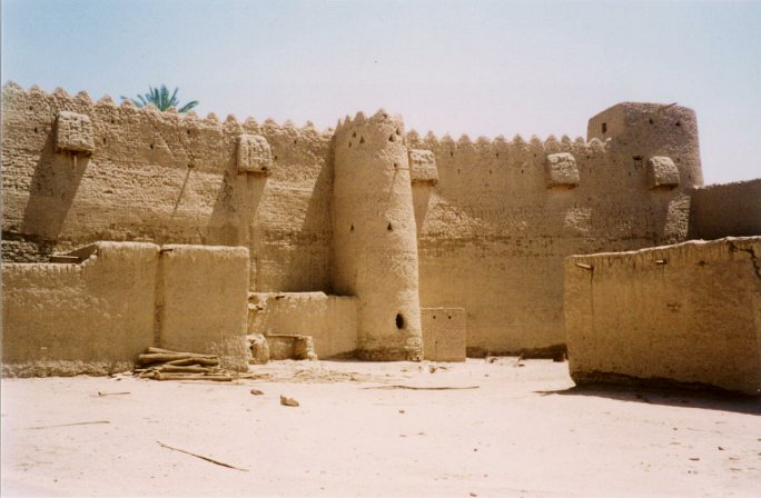 Amir's fort in Taymā'