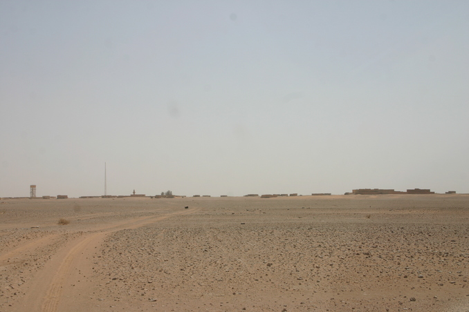 The abandoned village of Umm al-Diyān