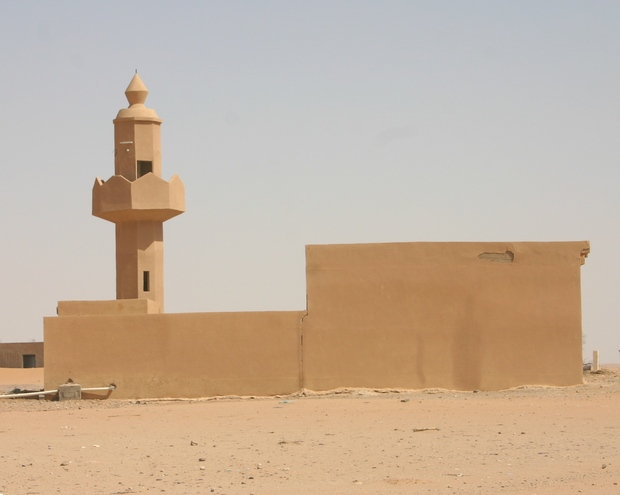 The abandoned mosque, Umm al-Diyān