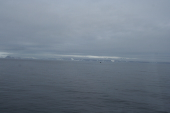 #1: Looking south at the northern coast of Svalbard