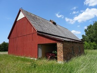 #7: Red barn of the abandoned farm