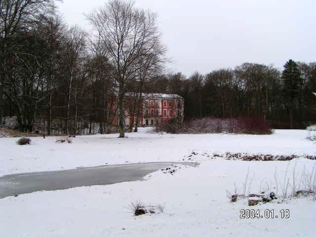 Ovesholm in winter