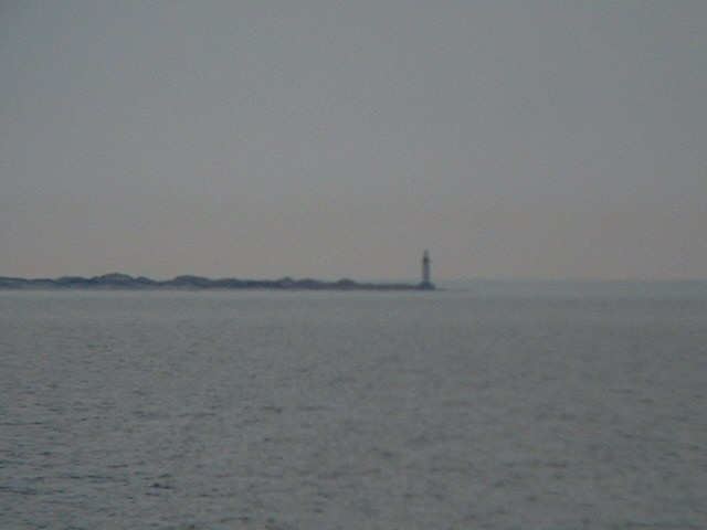 The lighthouse of Anholt on its easternmost tip