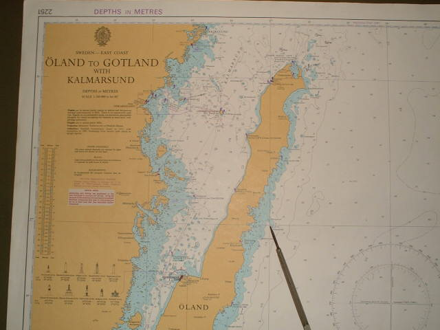 Map of confluence and Öland Island