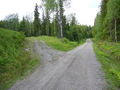 #7: Fork to the parking place from the main forest road