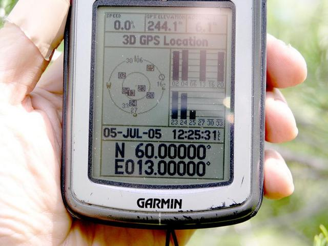 GPS with all zeroes, but without differential signals.