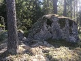 #9: Big boulder at the Confluence Point