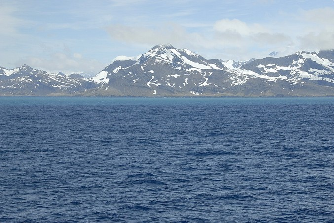 View towards South Georgia, near Possession Bay