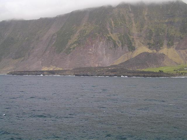 The site of the 1961 eruption today