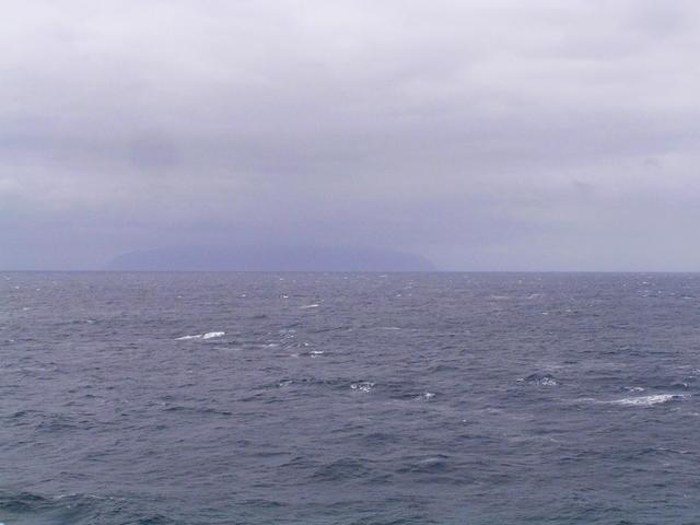 Tristan da Cunha seen from the Confluence