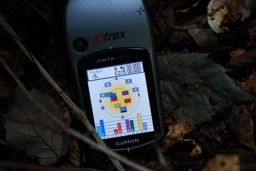 GPS reading at CP 46N 15E