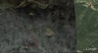#8: My track on the satellite image (© Google Earth 2009, picture taken on 28th August 2003)