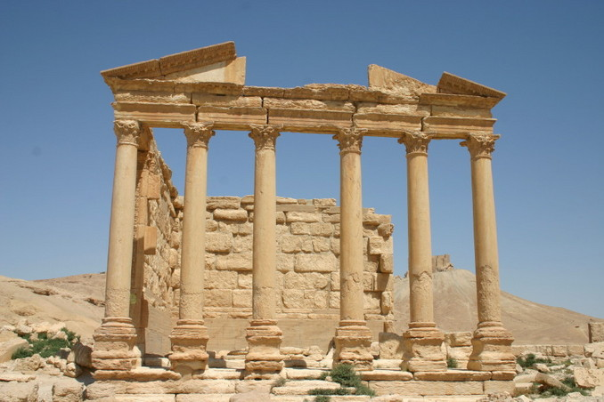 The funerary temple at the extensive Roman site of Palmyra