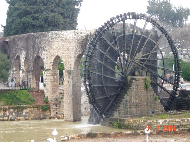 The Noria (water wheel) of Hamā