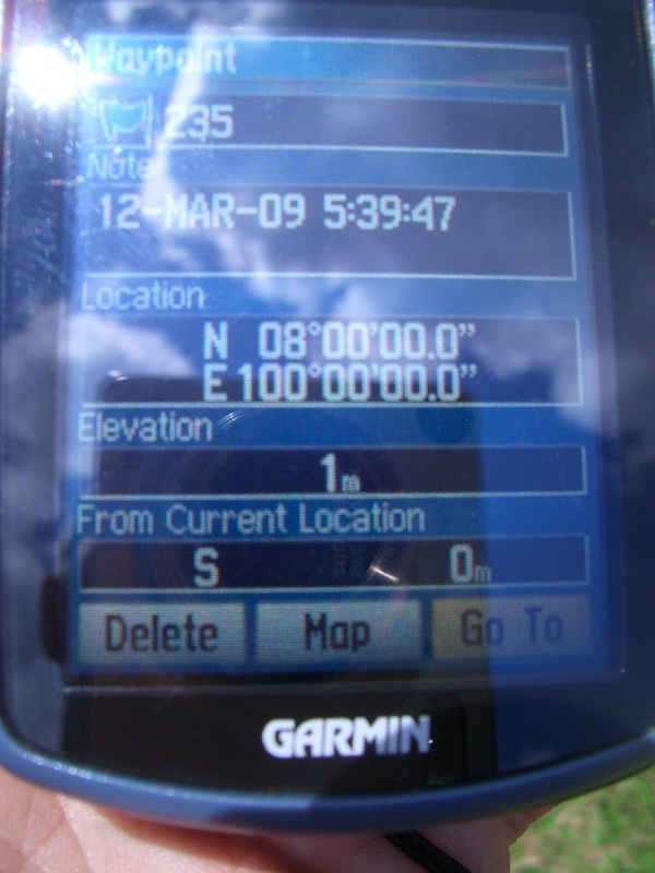 GPS registration
