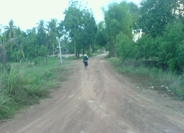 A local on his way home