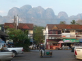 #7: Thom Pha Phum, marginally a tourist town on the way after riding 100km from Kanchanaburi.