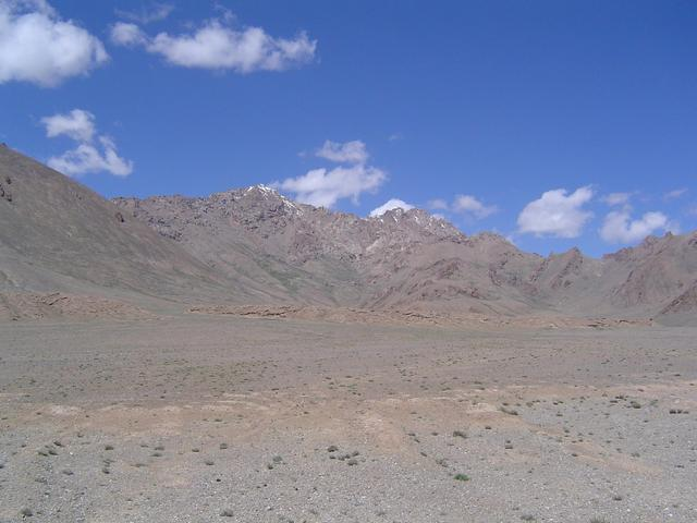 Looking West towards High Pamirs