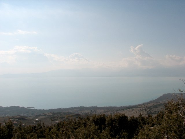 View west from Confluence - Eğirdir Lake