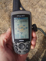 #6: The trusty GPS. No trees within kilometres so no problems finding satellites!