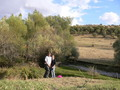 #7: My daughter Johanna and me right on the Confluence 39N 40E
