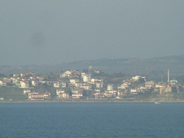 The village of Seddülbahir on Gallipoli Peninsula