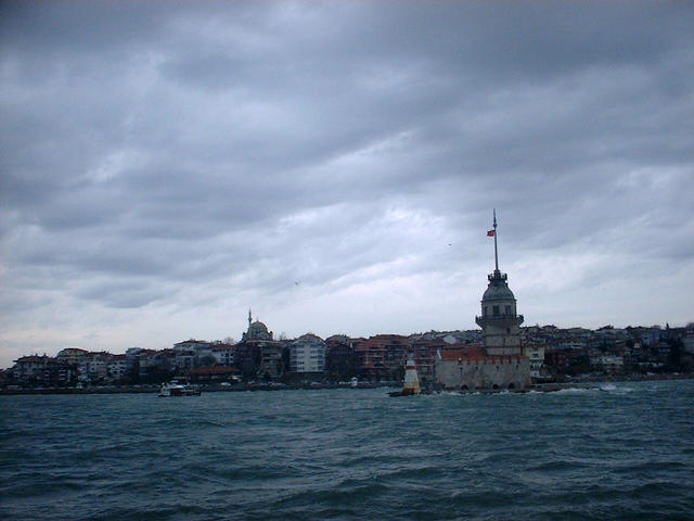 The Maiden's Tower, close to the Asian coast