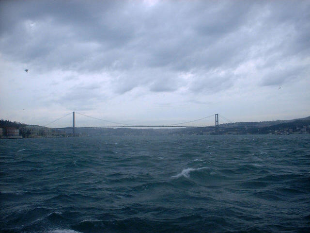 The first Bosphorus bridge