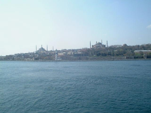 Old Istanbul, seen towards West