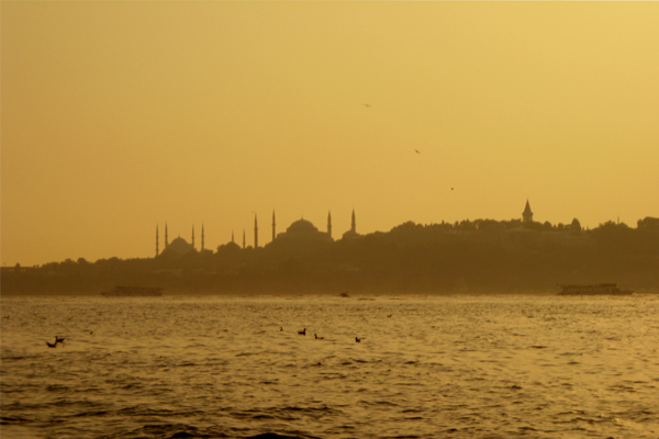 View to Southwest (Old Istanbul) from the Confluence