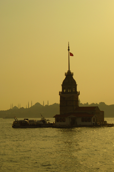 The Maiden's Tower near the Confluence