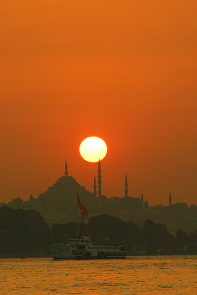 Sunset on Golden Horn