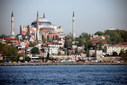 #10: A close-up view of the Hagia Sophia - view toward the West