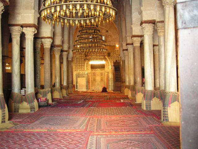 The Great Mosque of Kairouan, the fourth holiest site of Islam