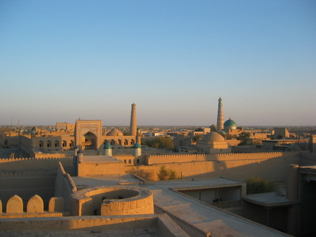 Historic City of Khiva (70km south-east)