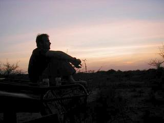 #1: Consolation prize - a couple of beers and an African Sunset