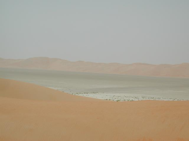 Looking north across the intra-dune area to the big dunes