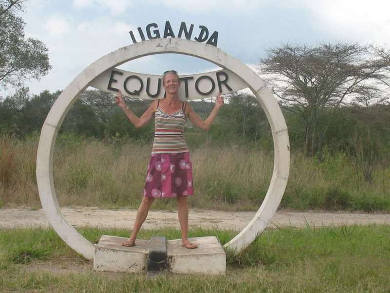 Babs at the Equator