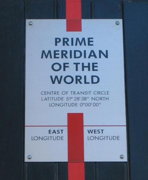 Sign at the Meridian Building